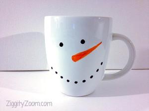 Easy DIY Snowman Mug