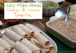 easy make ahead mexican meal