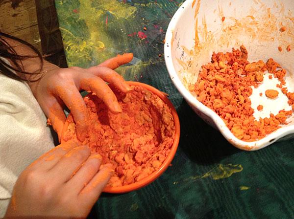 DIY bowl craft for kids