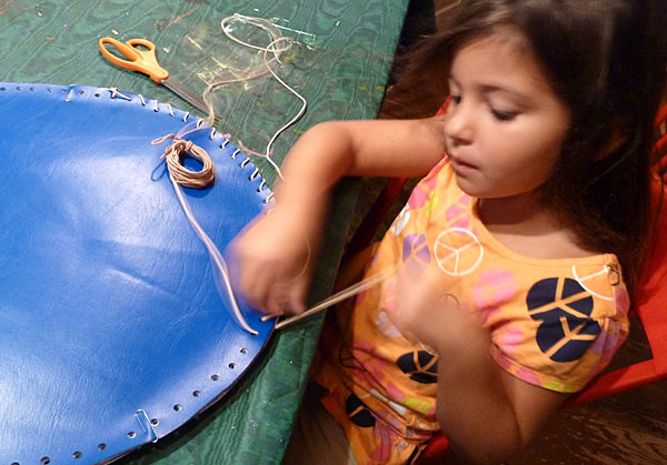 DIY Camp Craft to Make a Situpon
