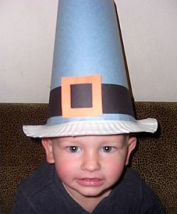 Thanksgiving Hat- Pilgrim Hat