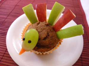 Turkey Apple Muffin for kids