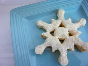 Christmas Snowflake Sandwich