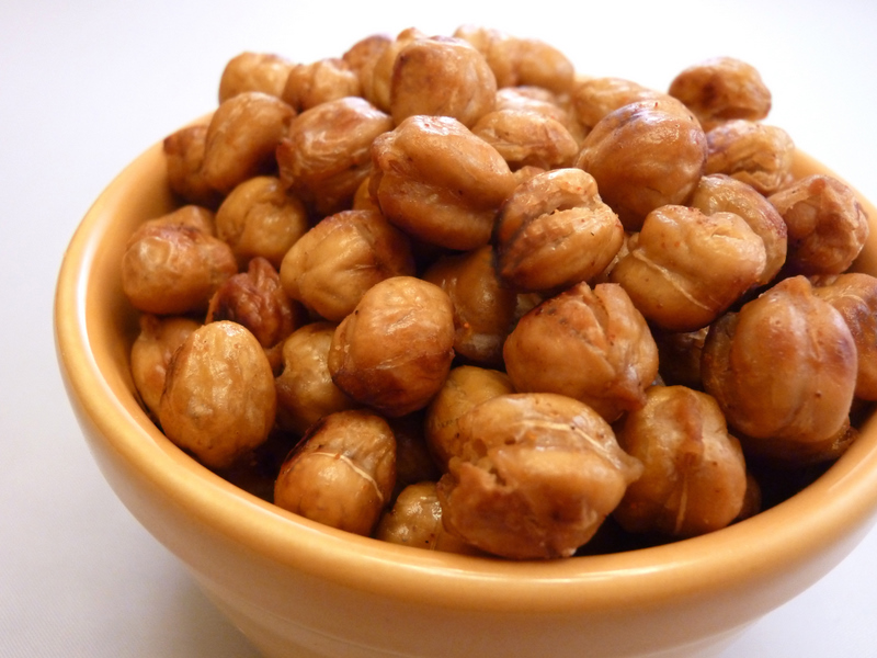Roasted Crunchy Chickpeas Recipe