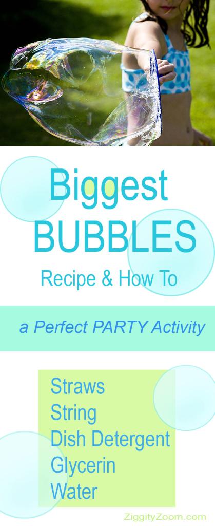 Biggest Bubbles recipe