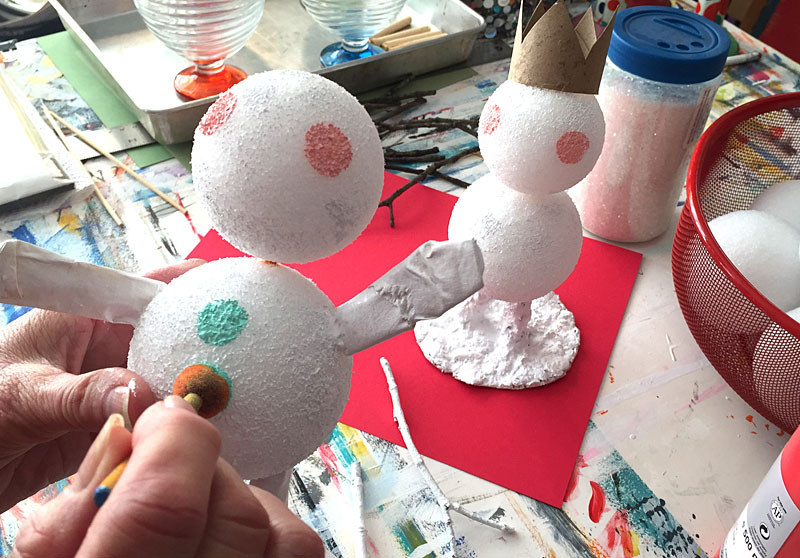 diy snowman craft