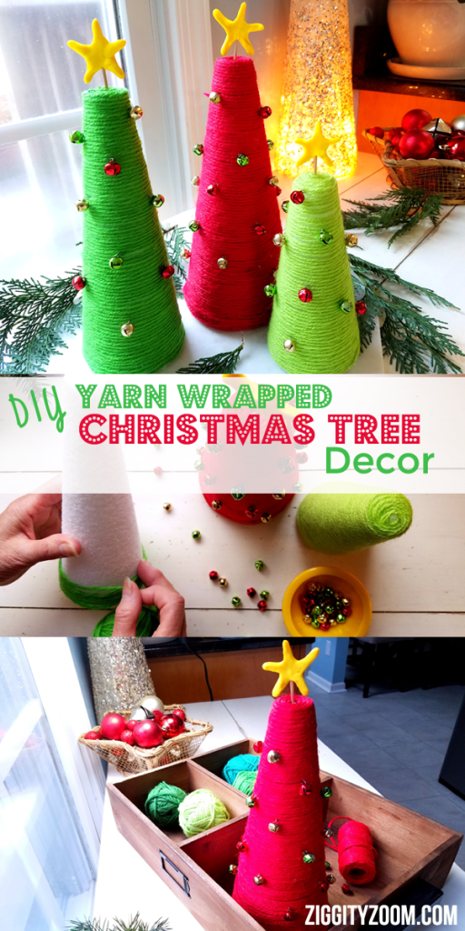 diy christmas tree craft