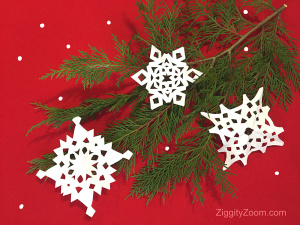 DIY Paper Snowflakes Tutorial