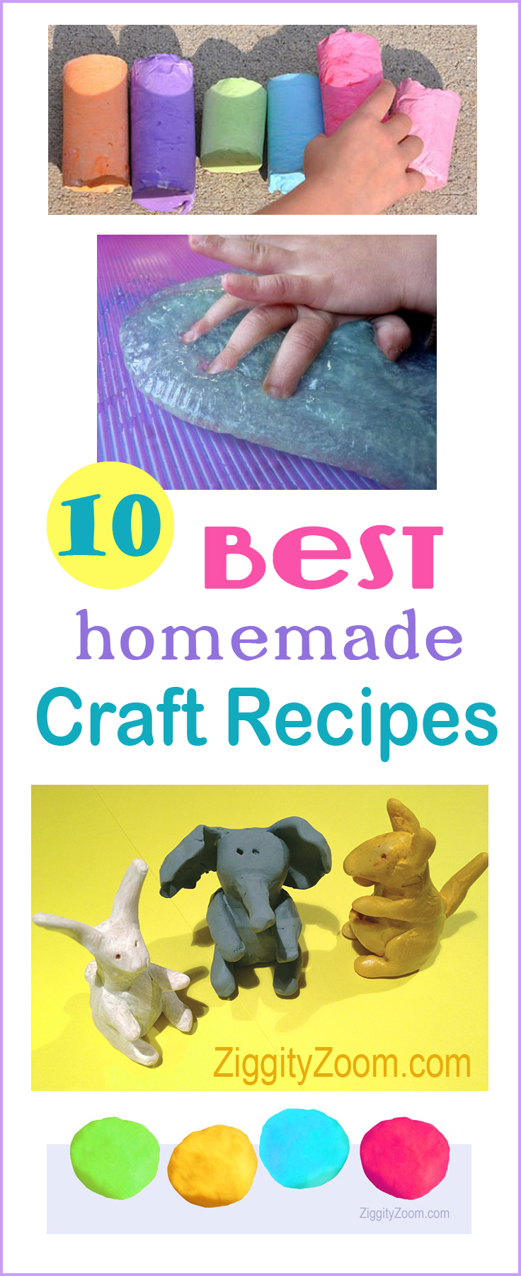 Best homemade craft recipes