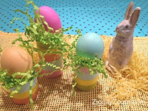 Kids Easter Craft-DIY Egg Holders