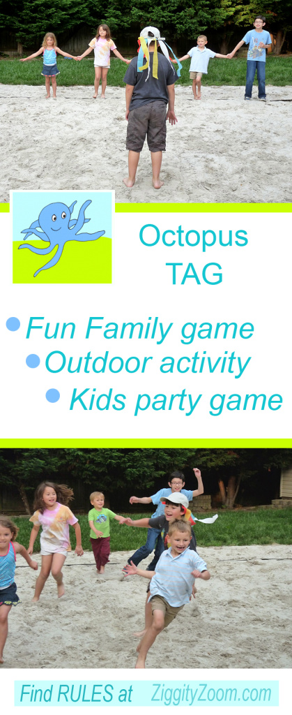Octopus tag game for camp