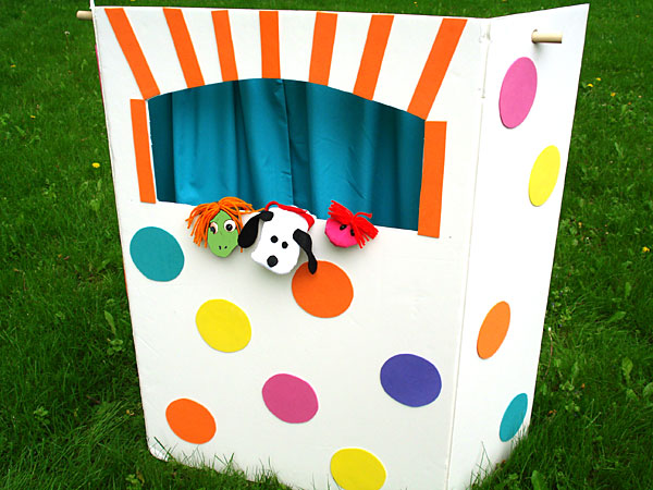 Puppet Theatre for kids