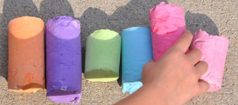 Homemade Chalk Recipe for Kids
