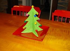 Christmas Tree Craft for Kids