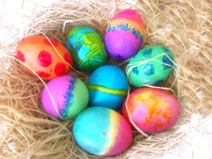 Tips for Coloring Eggs
