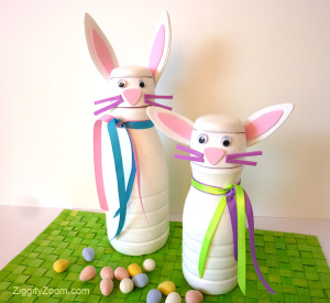 DIY Bunny Candy Container