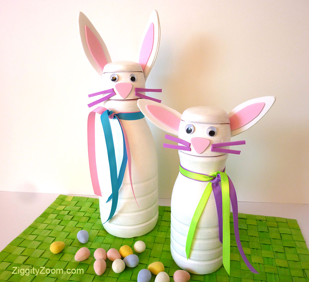 DIY Bunny Craft Project
