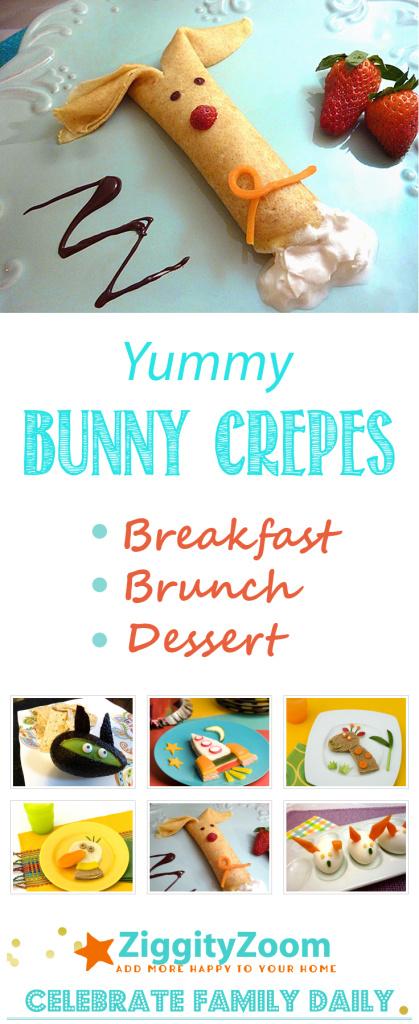 Bunny crepes recipe