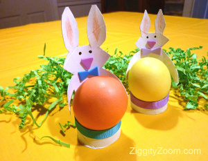 DIY Bunny Egg Holders