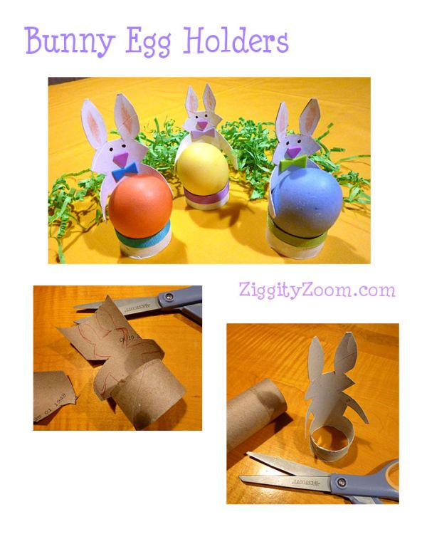Bunny Egg Holders craft
