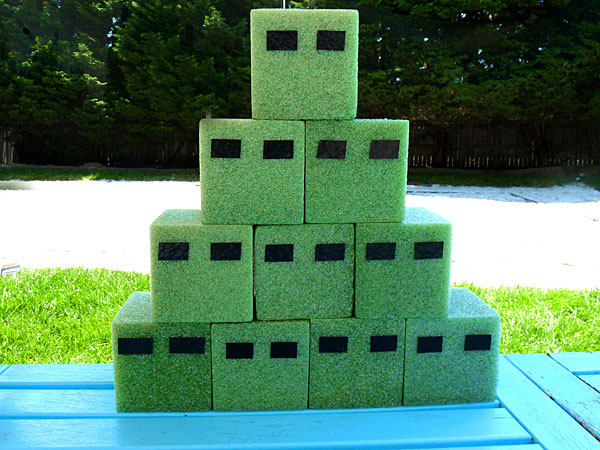 Easy Minecraft party game