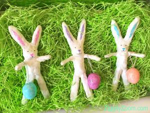 Paper Mache Bunny Project