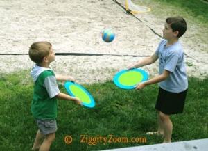 DIY Outdoor Ball Toss Game