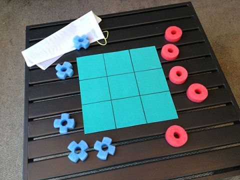 Pool Noodle Game- Tic-Tac-Toe