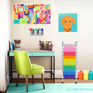 Design a Fun Art – Homework Space