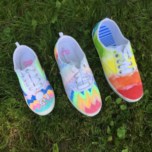DIY Cool Kicks for School