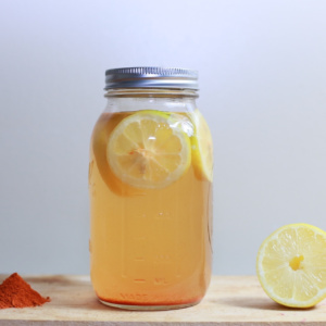 Make-Ahead Immune Boosting Lemonade