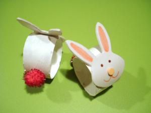 Bunny Napkin Rings Crafts