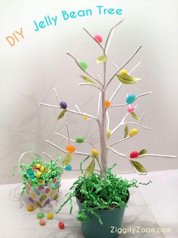 Jellybean tree DIy Craft
