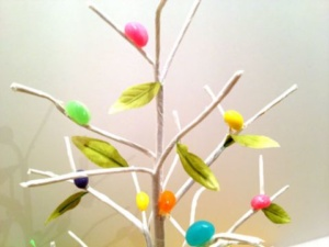 DIY Jellybean Tree Craft