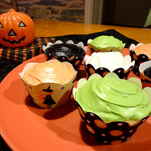 Printable Halloween Cupcake Wrappers