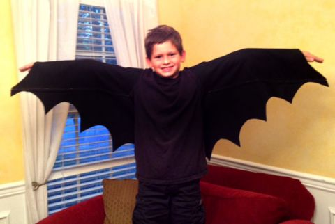 diy bat costume to make