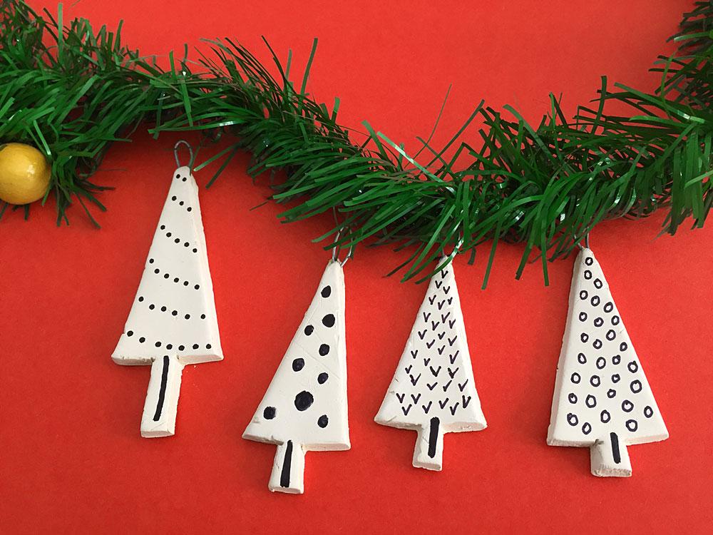 DIY Mini Tree Ornaments