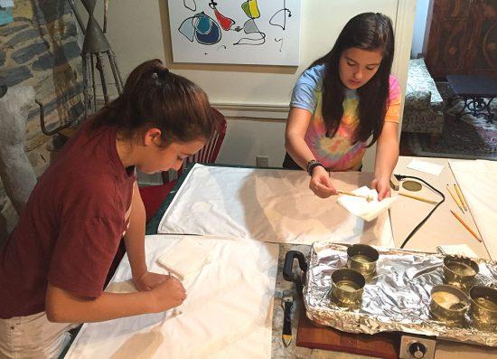 DIY Batik project