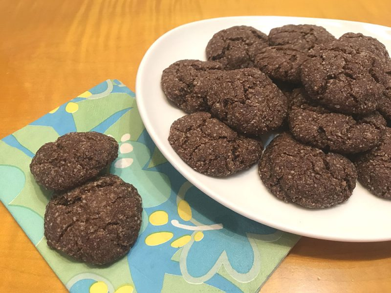 Chewy GF Ginger Cookie Recipe